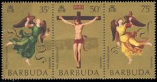 Barbuda 1971 Easter. Mond Crucifixion by Raphael unmounted mint.