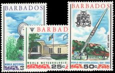 Barbados 1968 World Meteorological Day unmounted mint.