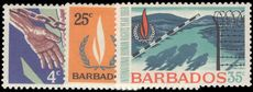 Barbados 1968 Human Rights unmounted mint.