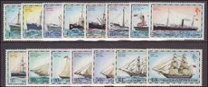 Falkland Islands 1978 Mail Ships set no imprint date unmounted mint.