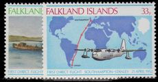 Falkland Islands 1978 26th Anniv of First Direct Flight Southampton-Port Stanley unmounted mint.