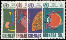 Grenada 1968 WHO unmounted mint.
