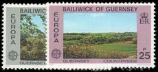 Guernsey 1977 Europa unmounted mint.