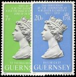 Guernsey 1978 Coronation and Royal Visit unmounted mint.