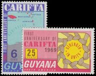 Guyana 1969 First Anniv of CARIFTA unmounted mint.