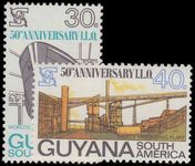 Guyana 1969 50th Anniv of lnternational Labour Organization unmounted mint.