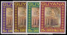 Guyana 1970 Christmas unmounted mint.