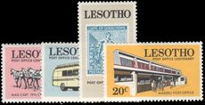 Lesotho 1972 Post Office Centenary unmounted mint.