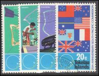 Tokelau 1972 25th Anniv of South Pacific Commission fine used.