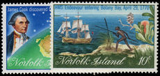 Norfolk Island 1970 Captain Cook (2nd) unmounted mint.