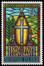 Norfolk Island 1972 First Church unmounted mint.