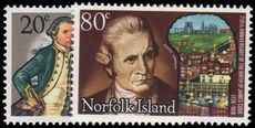 Norfolk Island 1978 Captain Cook birth anniversary unmounted mint.