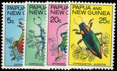 Papua New Guinea 1967 Fauna Conservation (Beetles) unmounted mint.