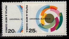 Papua New Guinea 1968 Universal Suffrage unmounted mint.