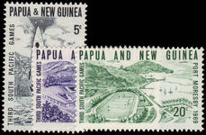 Papua New Guinea 1969 Third South Pacific Games unmounted mint.