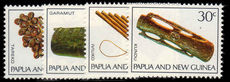 Papua New Guinea 1969 Musical Instruments unmounted mint.