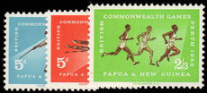 Papua New Guinea 1962 Seventh British Empire and Commonwealth Games unmounted mint.