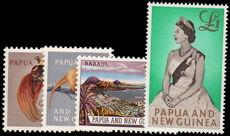 Papua New Guinea 1963 new values unmounted mint.