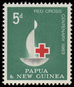 Papua New Guinea 1963 Red Cross Centenary unmounted mint.