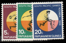 Papua New Guinea 1966 South Pacific Games unmounted mint.