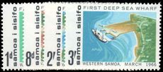 Samoa 1966 Opening of First Deep Sea Wharf unmounted mint.