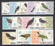 Samoa 1967 Decimal currency set unmounted mint.
