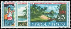 Samoa 1968 21st Anniv of the South Pacific Commission unmounted mint.