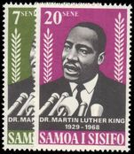 Samoa 1968 Martin Luther King Commemoration unmounted mint.