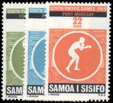 Samoa 1969 Third South Pacific Games unmounted mint.