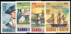 Samoa 1978 250th Birth Anniv of Captain Cook unmounted mint.