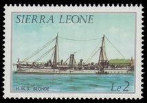 Sierra Leone 1984 2l ship no date imprint unmounted mint.