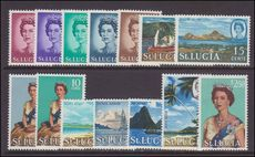 St Lucia 1964-69 set unmounted mint.