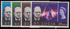 St Lucia 1966 Churchill Commemoration unmounted mint.
