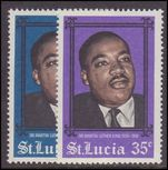 St Lucia 1968 Martin Luther King unmounted mint.