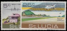 St Lucia 1971 Opening of Beane Field Airport unmounted mint.