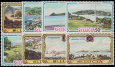 St Lucia 1971 Old and New Views of St. Lucia unmounted mint.