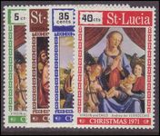 St Lucia 1971 Christmas unmounted mint.