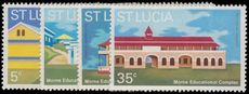 St Lucia 1972 Mornz Educational Complex unmounted mint.