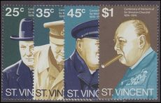 St Vincent 1974 Birth Centenary of Sir Winston Churchill unmounted mint.
