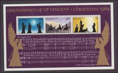 St Vincent Grenadines 1984 Christmas souvenir sheet unmounted mint.