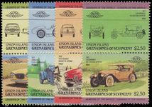 Union Island 1985 Cars (1st series) unmounted mint.