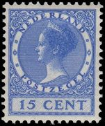 Netherlands 1926-32 15c ultramarine mint lightly hinged.
