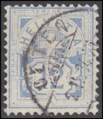 Switzerland 1882-99 12c pale ultramarine wmk 8 plain paper fine used.