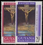 Guyana 1968 Easter unmounted mint.