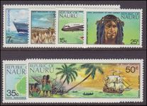 Nauru 1974 175th Anniv of First Contact with the Outside World unmounted mint.