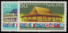 Nauru 1975 South Pacific Commission Conference Nauru (2nd issue) unmounted mint.