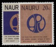 Nauru 1978 14th General Assembly of Asian Parliamentarions' Union unmounted mint.
