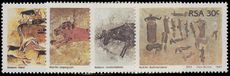 South Africa 1987 Rock Paintings unmounted mint.