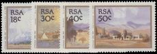 South Africa 1989 Paintings by Jacob Hendrik Pierneef unmounted mint.