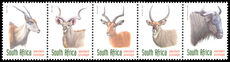 South Africa 1997-2000 (1r10) phosphor strip unmounted mint.